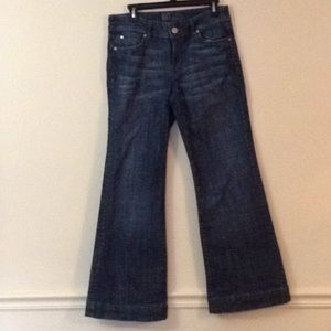 Kut for Kloth jeans size 8 wide leg in great shape